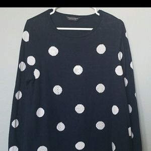 Dorothy Perkins swing style sweater size 12